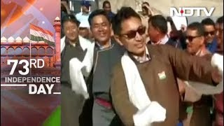 Watch: Ladakh MP, Praised By Prime Minister, Dances On Independence Day