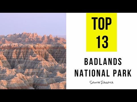 Top 13. Tourist Attractions & Things to Do in Badlands National Park, South Dakota