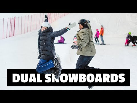 DUAL SNOWBOARDS | TALVITESTIT