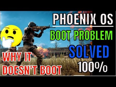 how to solve #phoenix os #boot problem ll #phoenix os does not start ll by  borntoplaygames