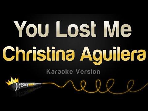 christina-aguilera---you-lost-me-(karaoke-version)