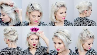 9 HELPFUL HAIR TOOLS FOR SHORT HAIRSTYES | Milabu