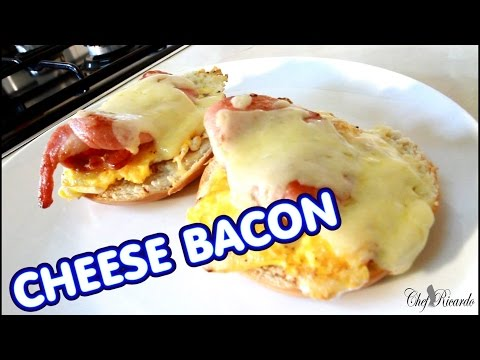 CHEESE BACON FOR BREAKFAST JAMAICA CHEF