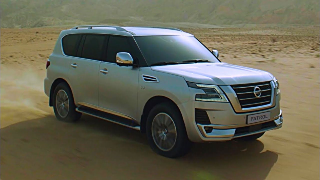 2020 Nissan Patrol SUV Features | Off-road driving test ...