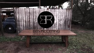 Farmhouse Table / Ben Riddering Design & Woodcraft