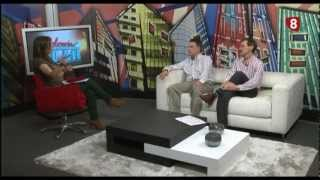 Entrevista vehículo eléctrico eficiente IES Trinidad Arroyo - La 8 Palencia