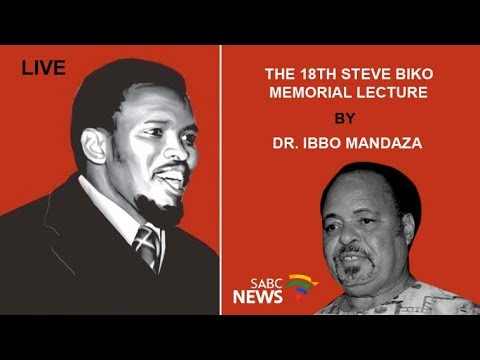 The 18th Steve Biko memorial lecture delivered by Dr. Ibbo Mandaza