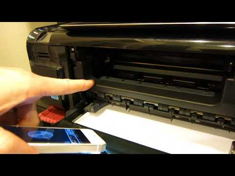 HOW TO CLEAN PRINT HEADS ON A HP PRINTER - FIXED MY PRINTING PROBLEM!!