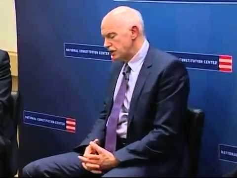 George Papandreou: Lessons Learned in the Wake of the Arab Spring