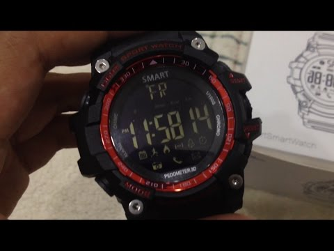 SmartWatch EX Series EX16 Review - YouTube f482450cf5e54