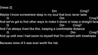 THE ONLY EXCEPTION-PARAMORE(CHORDS AND LYRICS)