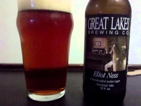 Great Lakes Eliot Ness Beer Review