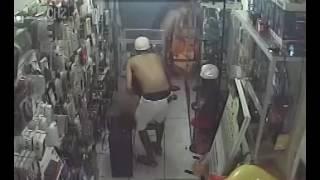 Câmeras gravam assalto a loja de importados localizada em Coruripe