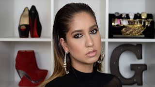 seductive smokey eye   clubbing makeup tutorial gabriella gatehouse