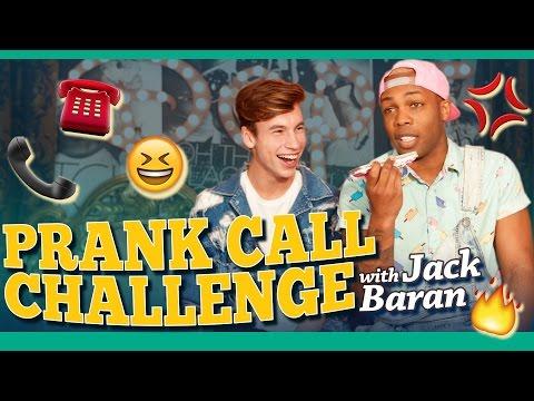 Prank Call Challenge w Jack Baran