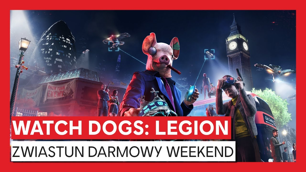 WATCH DOGS: LEGION ZWIASTUN DARMOWY WEEKEND