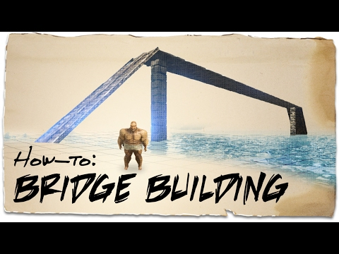 How to build a bridge over water | ARK: Survival Evolved | Building Tips