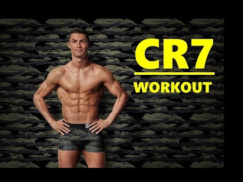Cristiano Ronaldo workout/strength training