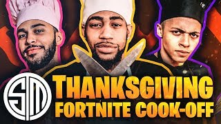 Download TSM Fortnite Cook-Off | Thanksgiving Edition 🦃 Mp3 and Videos
