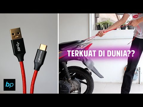 KABEL USB TERKUAT DI DUNIA? Blitzwolf Ampcore USB Cable Unboxing & Review INDONESIA | Buka paket