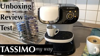 Bosch TASSIMO my way TAS6004 im Unboxing, Test & Review