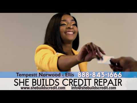 She Builds Credit Commercial