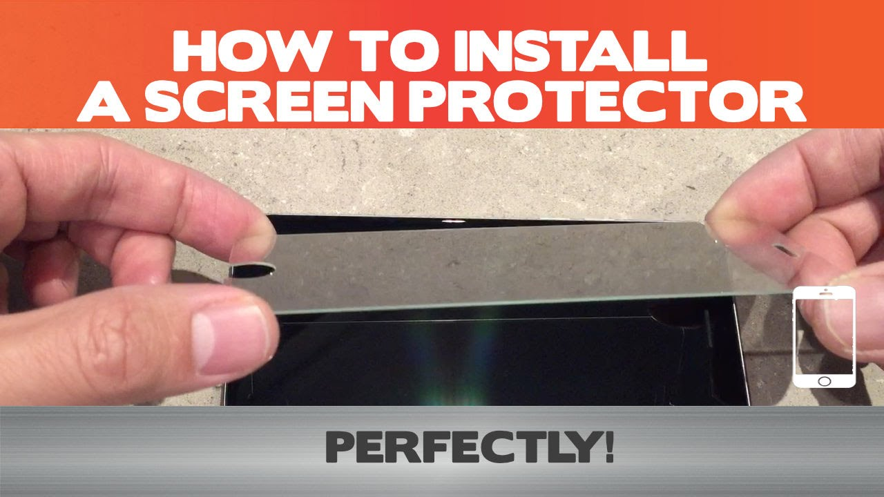 How to install any screen protector perfectly 10 steps plus 3 how to install any screen protector perfectly 10 steps plus 3 pro tips youtube vtopaller Choice Image