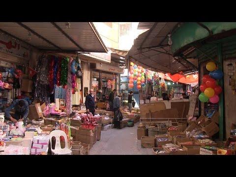 سوق الندى في عمان Youtube