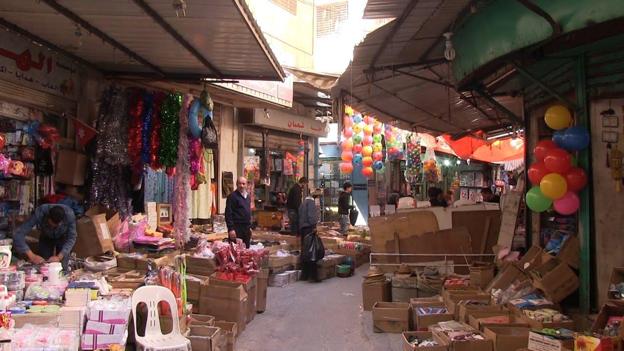 سوق الندى في عمان - YouTube