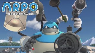ARPO The Robot For All Kids - Military Robot | Compilation | Cartoon for Kids Video