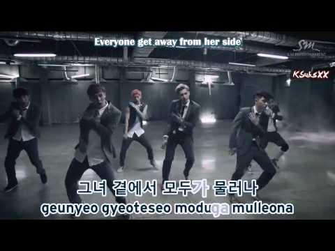 EXO-K - Growl (으르렁) [Karaoke Subs + Instrumental + Eng]