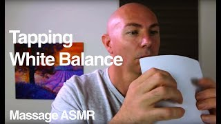 ASMR 2 Min Tingle Fast & LOUD Tapping Sound White Balance Card