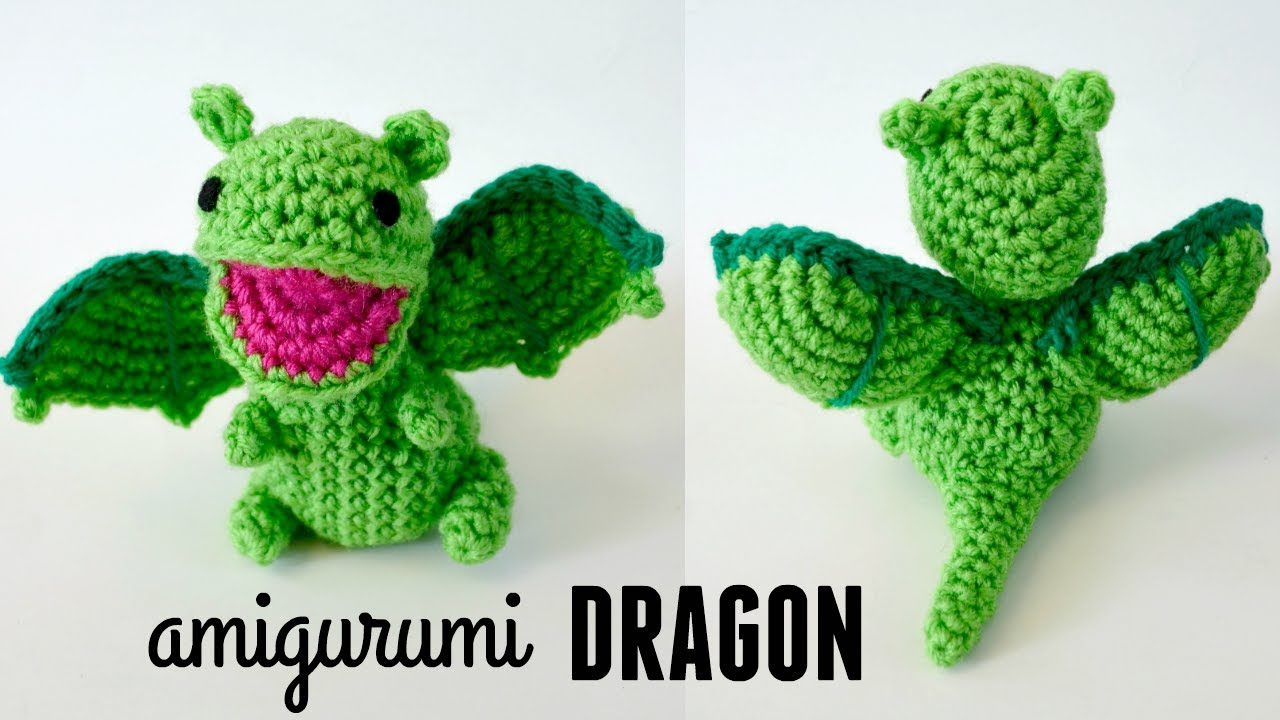 Philip the Dragon Crochet Free Pattern | Crochet dinosaur patterns ... | 720x1280