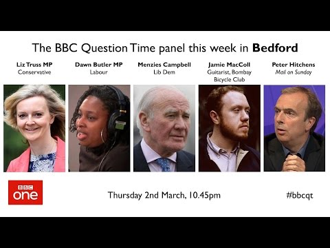 Question Time 2/3/17: jailing paedos, police cuts, EU migrants, killing Labour, Sir Philip Green