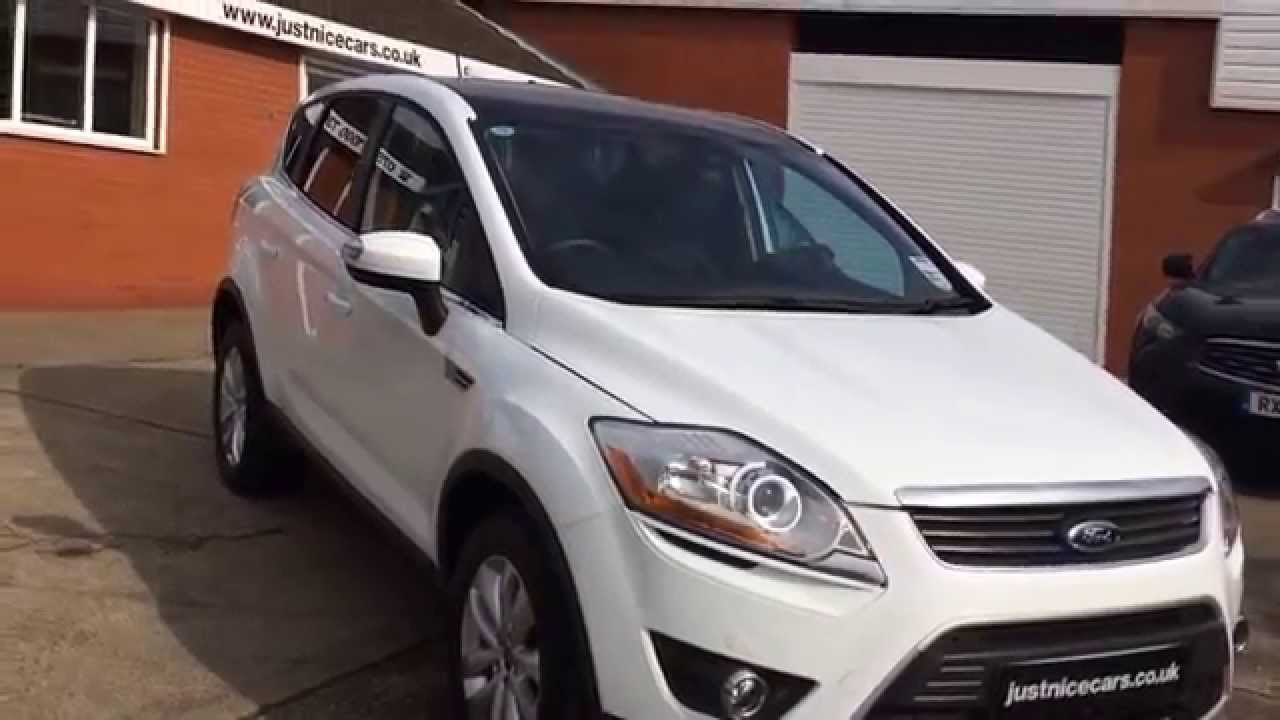 2009 59 ford kuga 2 5t titanium 5dr auto 200bhp turbo 4x4 sorry now sold youtube. Black Bedroom Furniture Sets. Home Design Ideas