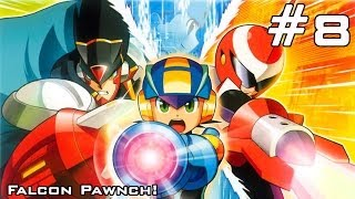 Mega Man Battle Network 5: Double Team DS - Part 8: Falcon Pawnch!
