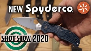 New Spyderco Knives at SHOT Show 2020 - KnifeCenter Coverage thumbnail
