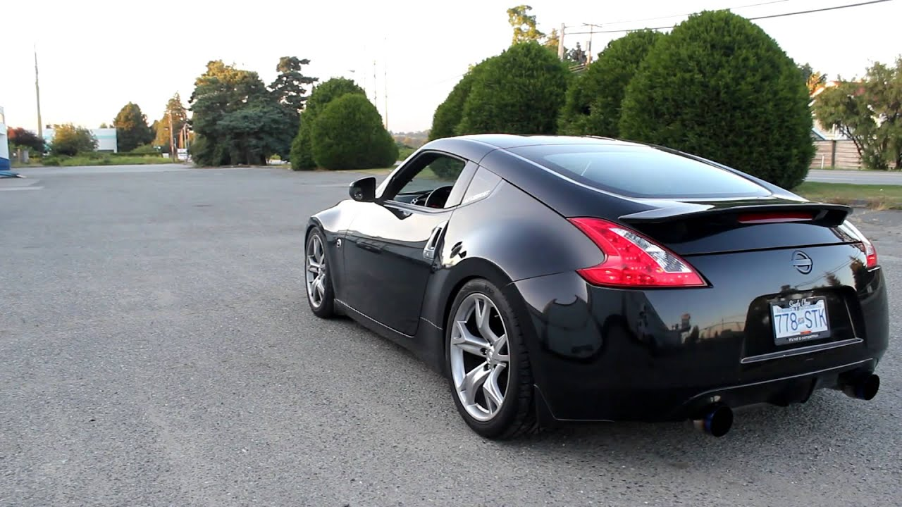 370z OEM exhaust vs Invidia CBE vs Invidia TP + CBE | Doovi