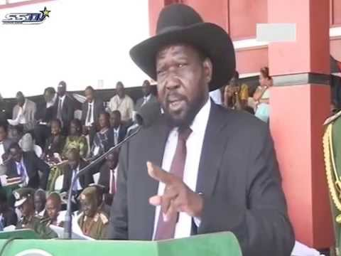 President Salva Kiir's Speech To The People Of South Sudan,