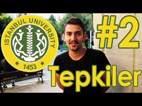 İstanbul Üniversitesi - Okuduğun Bölümü Söylediğinde Aldığın Tepki #2