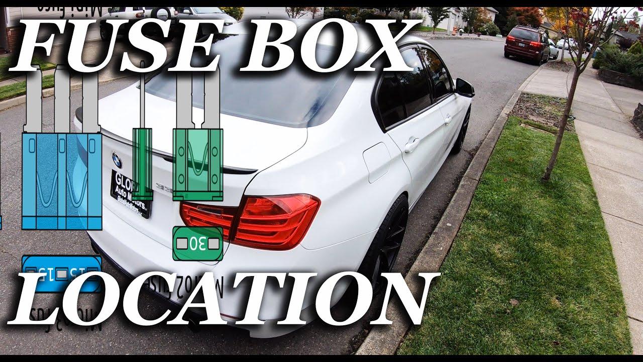 FUSE BOX LOCATION ON A 2007 - 2013 BMW X5 - YouTubeYouTube