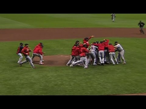 Cardinals win the National League pennant