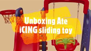 Unboxing | Kids Sliding Toy Megastar 3-in-1 Playset - Blue | Red