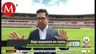 Panamá vs México: Baja respuesta en venta de boletos