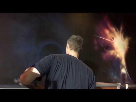 Tony Dalton Spraypaint Mural  The Establishment 2017