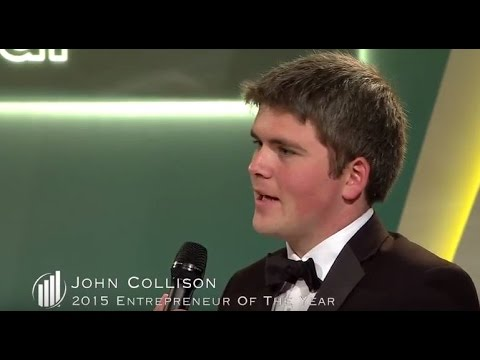 2015 EY Entrepreneur Of The Year Acceptance Speech - John & Patrick Collison, Stripe (Overall)