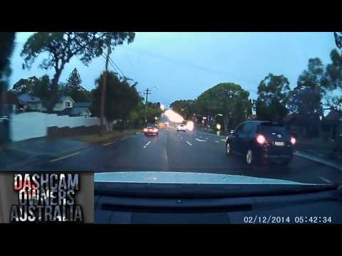 Road Rage caught on dash camera in Sydney