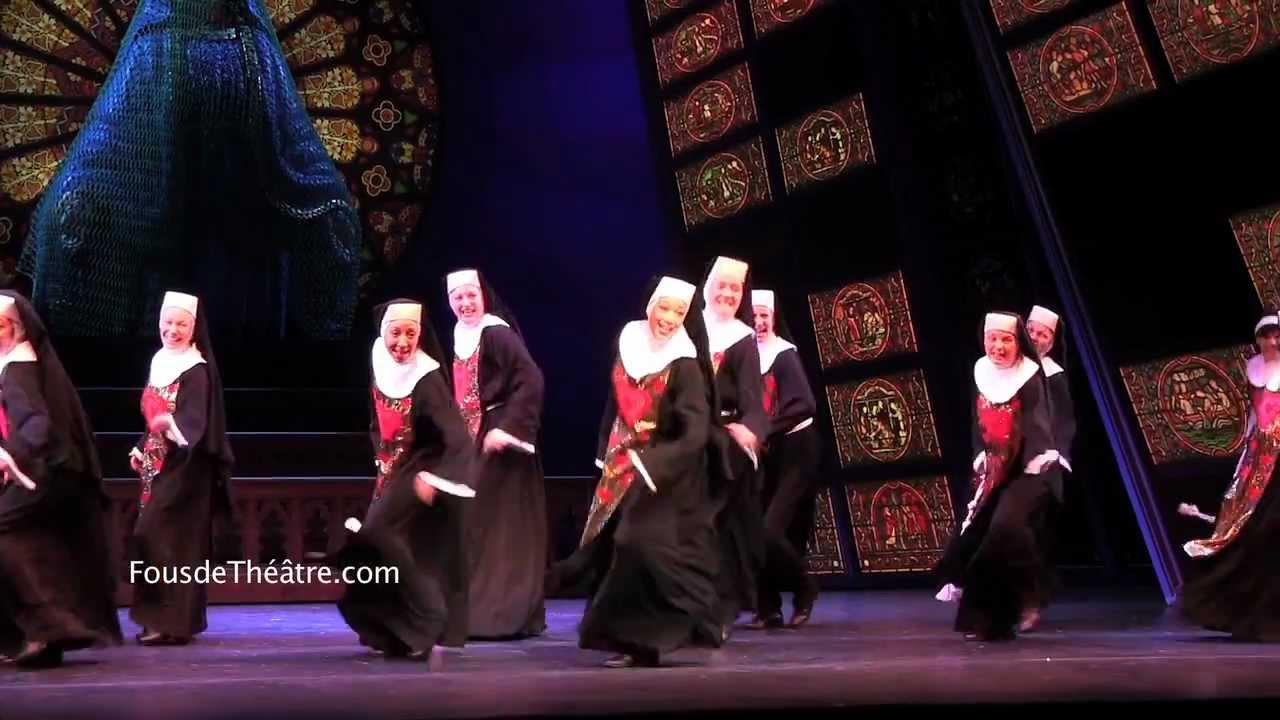 Sister Act le musical, Théâtre Mogador, Paris (extraits du show)