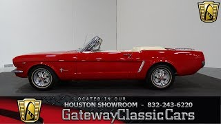 1965 Ford Mustang Gateway Classic Cars #891 Houston Showroom