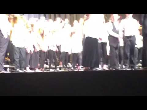 West Valley Middle School 6th Grade Choir - High Hopes (Landon Finley solo)